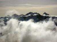 Gruppo del Bernina visto dalla cima