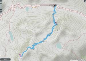 Mappa piz Lagrev