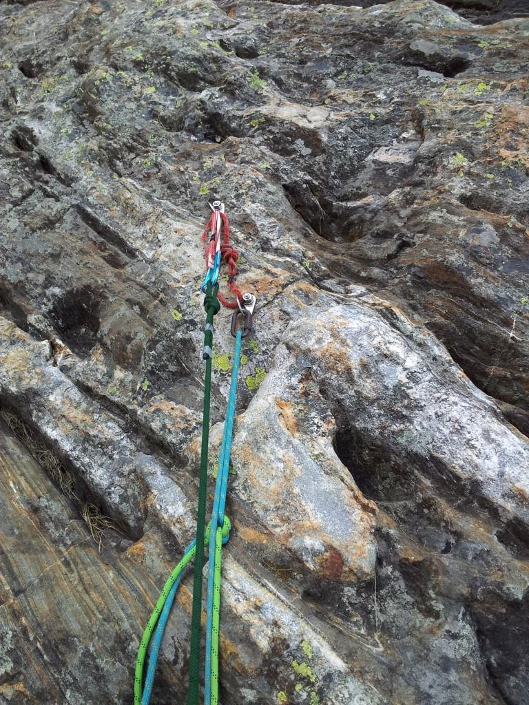 Forme e colori della ragnatela: 400m tutti così, solo più verticali