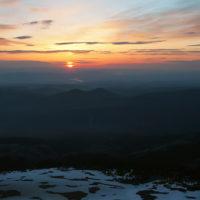 3. Sunshine over Cascade Range