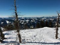 Ready to ski down
