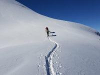In prossimità della cresta finale - photo@Stefano Battaglia